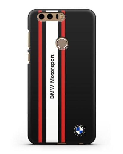 Чехол BMW Motorsport силикон черный для Honor 8