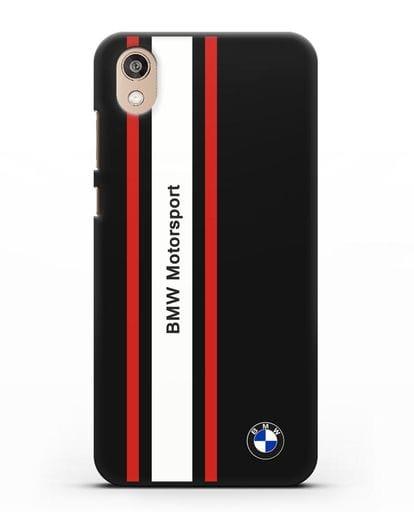Чехол BMW Motorsport силикон черный для Honor 8S