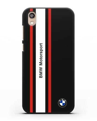 Чехол BMW Motorsport силикон черный для Honor 8S Prime