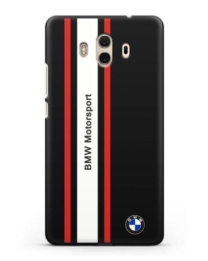 Чехол BMW Motorsport силикон черный для Huawei Mate 10