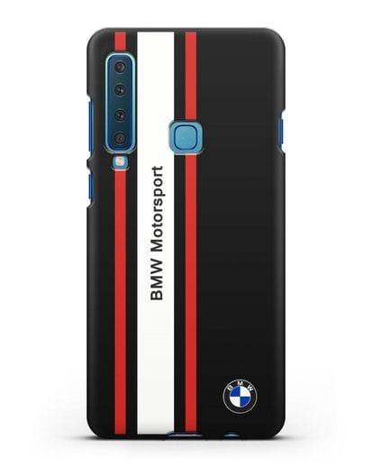 Чехол BMW Motorsport силикон черный для Samsung Galaxy A9 (2018) [SM-A920]