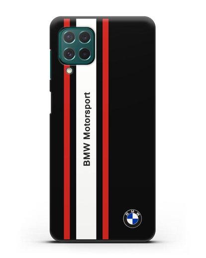 Чехол BMW Motorsport силикон черный для Samsung Galaxy M62 [SM-M625F]