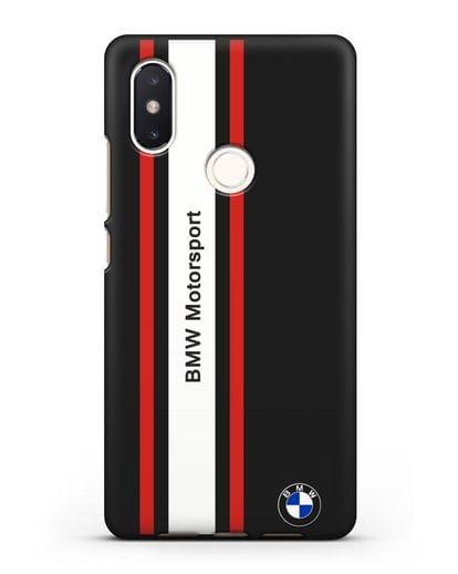 Чехол BMW Motorsport силикон черный для Xiaomi Mi 8 SE
