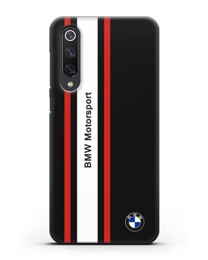 Чехол BMW Motorsport силикон черный для Xiaomi Mi 9 SE