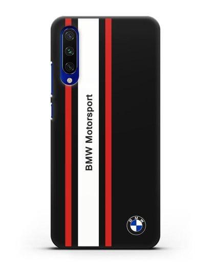 Чехол BMW Motorsport силикон черный для Xiaomi Mi CC9 E
