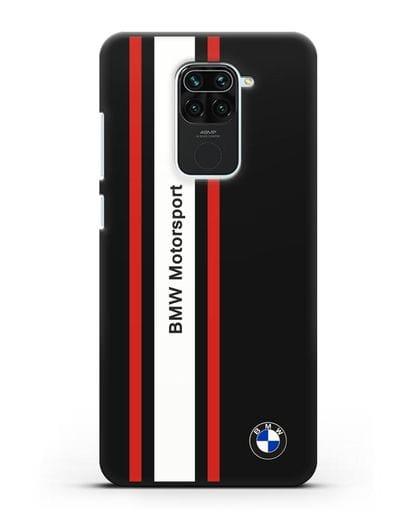 Чехол BMW Motorsport силикон черный для Xiaomi Redmi 10X
