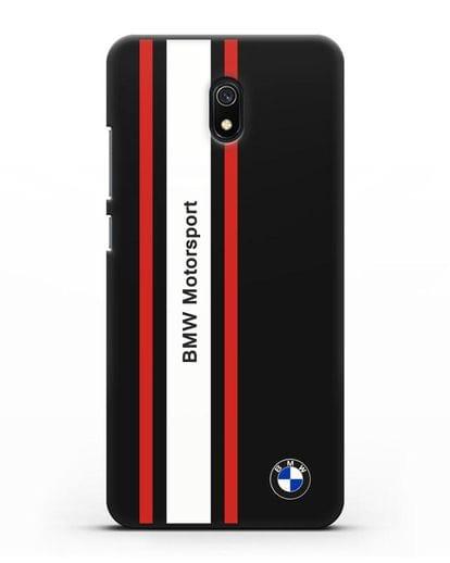 Чехол BMW Motorsport силикон черный для Xiaomi Redmi 8A