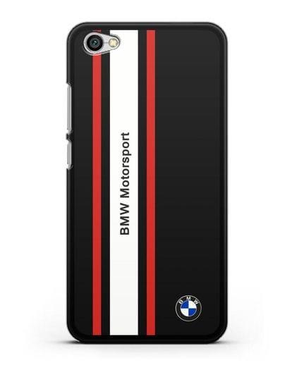 Чехол BMW Motorsport силикон черный для Xiaomi Redmi Note 5A