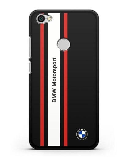 Чехол BMW Motorsport силикон черный для Xiaomi Redmi Note 5A Prime