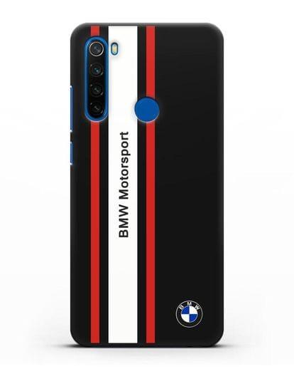 Чехол BMW Motorsport силикон черный для Xiaomi Redmi Note 8T
