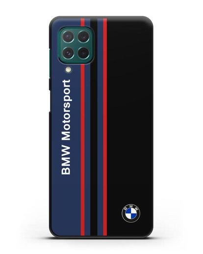 Чехол с надписью BMW Motorsport силикон черный для Samsung Galaxy M62 [SM-M625F]