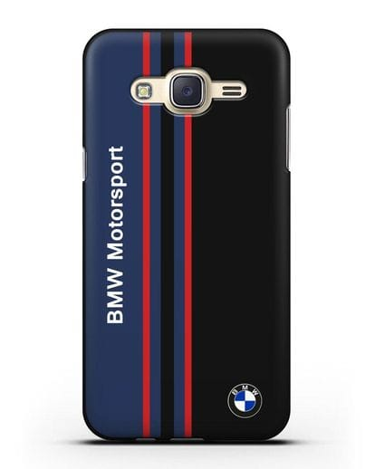 Чехол с надписью BMW Motorsport силикон черный для Samsung Galaxy J5 2015 [SM-J500H]