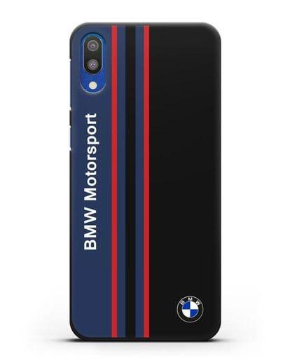 Чехол с надписью BMW Motorsport силикон черный для Samsung Galaxy M10 [SM-M105F]