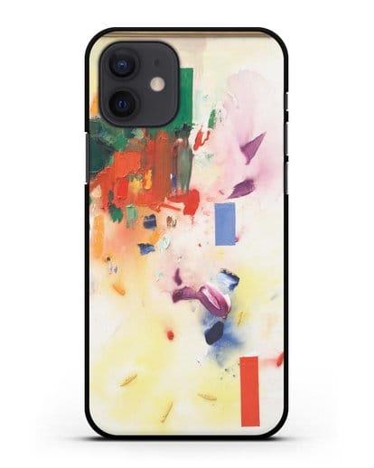 Чехол Замок (Гофман Ганс) силикон черный для iPhone 12