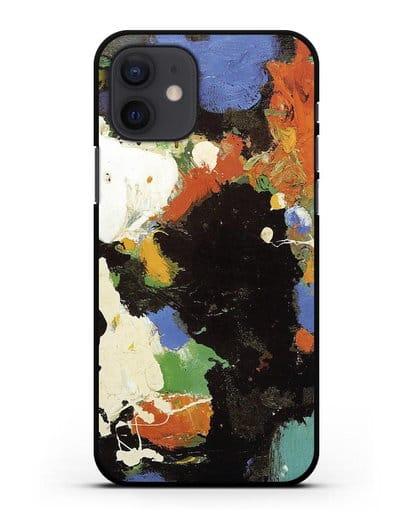 Чехол Фокусник (Гофман Ганс) силикон черный для iPhone 12