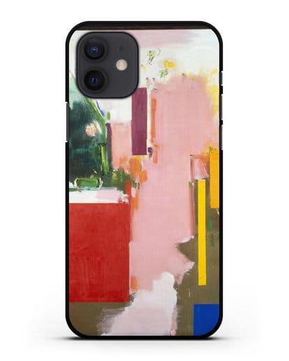 Чехол Лето 1965 (Гофман Ганс) силикон черный для iPhone 12