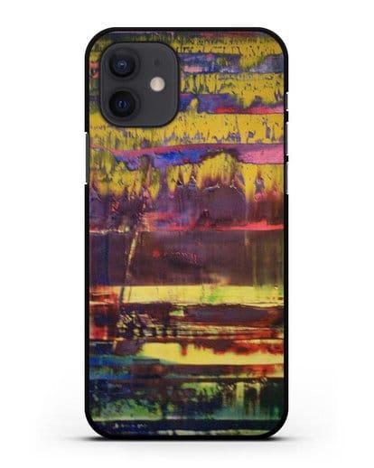 Чехол Уоллес Бурнс (Рихтер Герхард) силикон черный для iPhone 12
