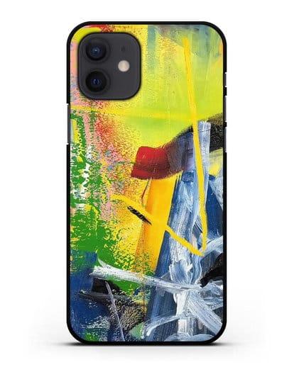 Чехол Korn (Рихтер Герхард) силикон черный для iPhone 12