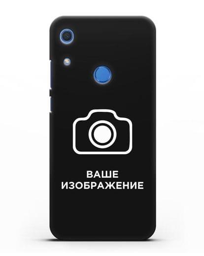 Чехол с фотографией, рисунком, логотипом на заказ силикон черный для Huawei Y6s