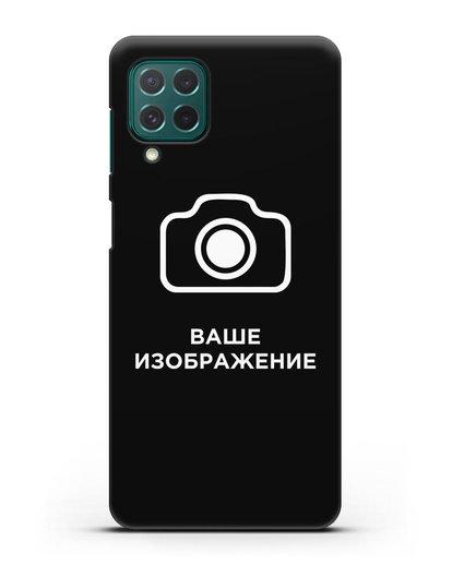 Чехол с фотографией, рисунком, логотипом на заказ силикон черный для Samsung Galaxy M62 [SM-M625F]
