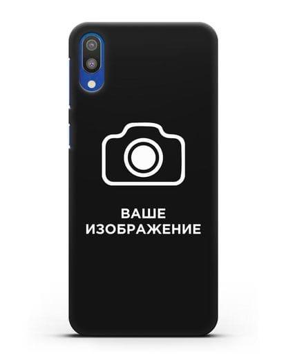 Чехол с фотографией, рисунком, логотипом на заказ силикон черный для Samsung Galaxy M10 [SM-M105F]