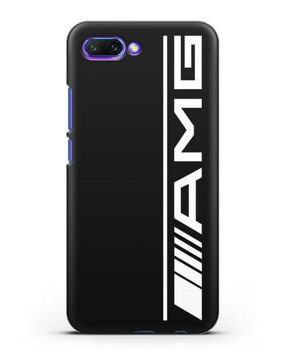Чехол с логотипом AMG силикон черный для Honor 10