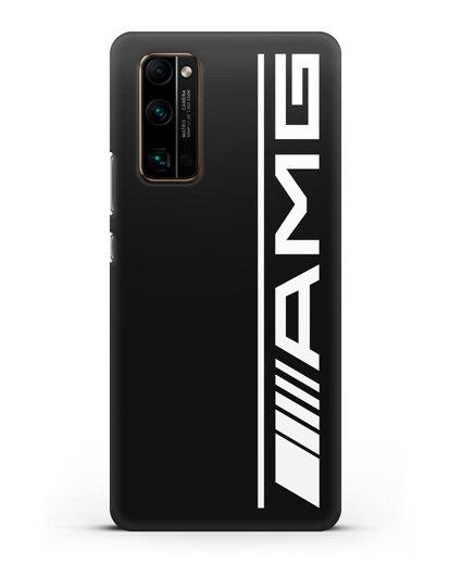 Чехол с логотипом AMG силикон черный для Honor 30 Pro