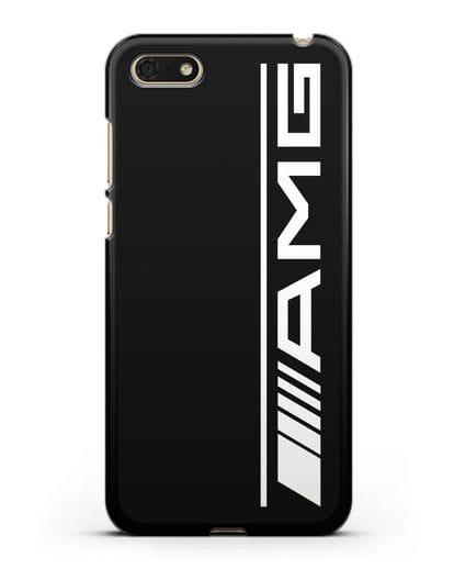 Чехол с логотипом AMG силикон черный для Honor 7А