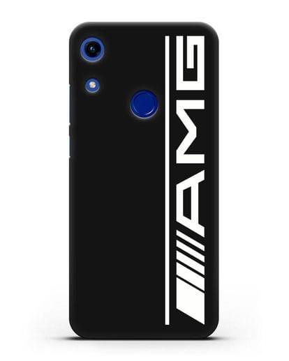 Чехол с логотипом AMG силикон черный для Honor 8A