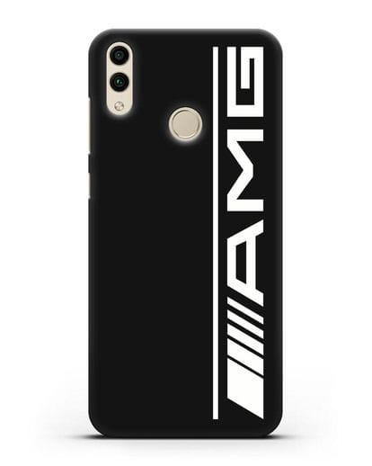 Чехол с логотипом AMG силикон черный для Honor 8C