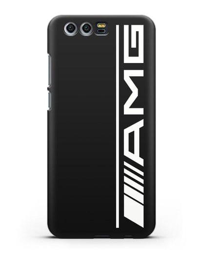 Чехол с логотипом AMG силикон черный для Honor 9