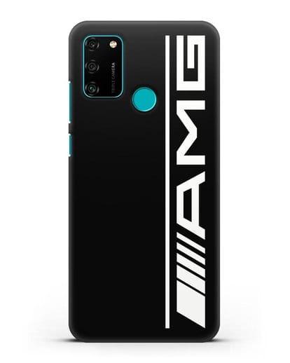 Чехол с логотипом AMG силикон черный для Honor 9A