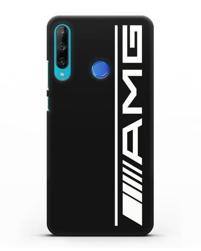 Чехол с логотипом AMG силикон черный для Honor 9C