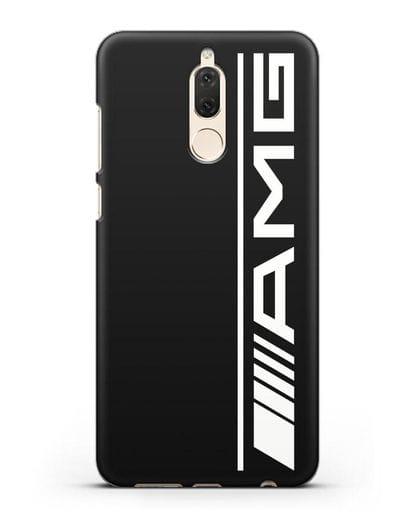 Чехол с логотипом AMG силикон черный для Huawei Mate 10 Lite