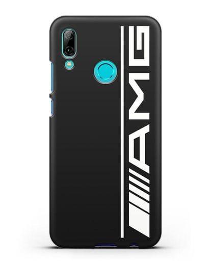 Чехол с логотипом AMG силикон черный для Huawei P Smart 2019