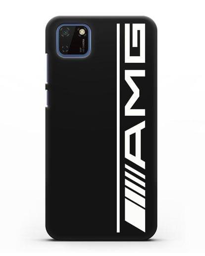 Чехол с логотипом AMG силикон черный для Huawei Y5P