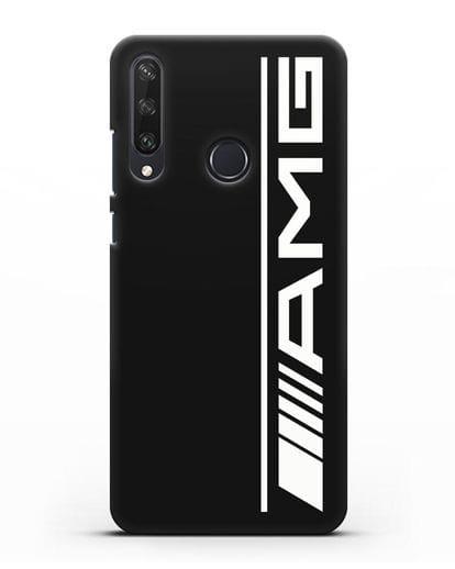 Чехол с логотипом AMG силикон черный для Huawei Y6P