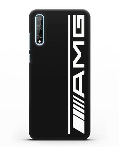 Чехол с логотипом AMG силикон черный для Huawei Y8P