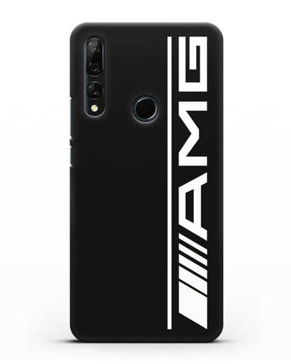 Чехол с логотипом AMG силикон черный для Huawei Y9 Prime 2019