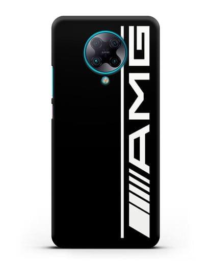 Чехол с логотипом AMG силикон черный для Xiaomi Poco F2 Pro