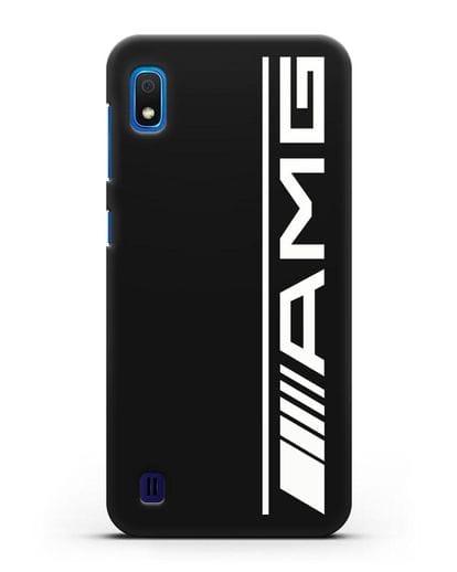 Чехол с логотипом AMG силикон черный для Samsung Galaxy A10 [SM-A105F]