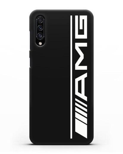 Чехол с логотипом AMG силикон черный для Samsung Galaxy A30s [SM-A307FN]