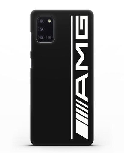 Чехол с логотипом AMG силикон черный для Samsung Galaxy A31 [SM-A315F]
