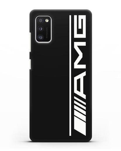 Чехол с логотипом AMG силикон черный для Samsung Galaxy A41 [SM-A415F]