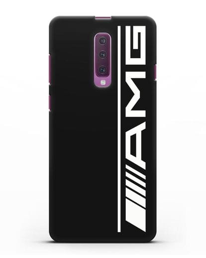 Чехол с логотипом AMG силикон черный для Samsung Galaxy A90 [SM-A908N]