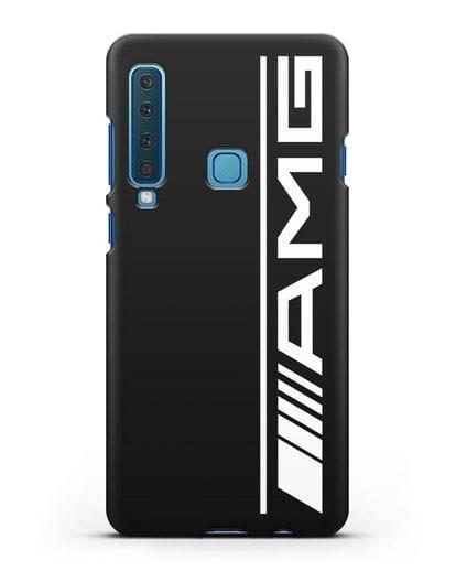 Чехол с логотипом AMG силикон черный для Samsung Galaxy A9 (2018) [SM-A920]