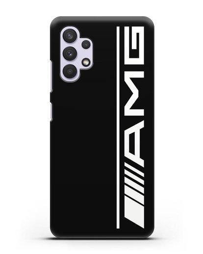Чехол с логотипом AMG силикон черный для Samsung Galaxy A32 5G [SM-A326B]