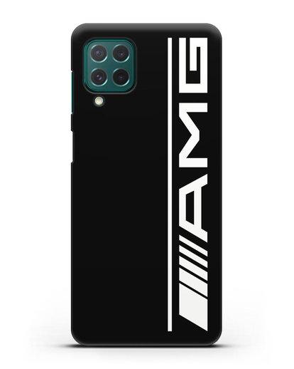 Чехол с логотипом AMG силикон черный для Samsung Galaxy M62 [SM-M625F]