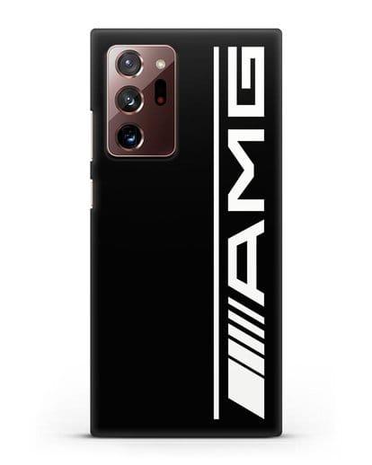 Чехол с логотипом AMG силикон черный для Samsung Galaxy Note 20 Ultra [SM-N985F]