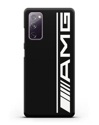Чехол с логотипом AMG силикон черный для Samsung Galaxy S20 FE [SM-G780F]